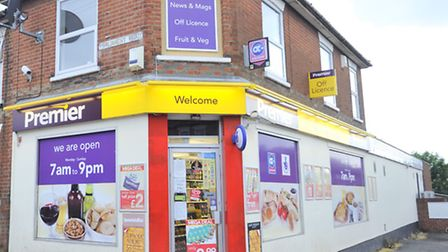 A Premier Shop on Freehold Road in Ipswich was robbed on Wednesday.
