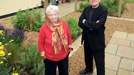 Husband and wife artists David and Jenny Parsons. Feature for Suffolk Magazine. EADT 7.7.12