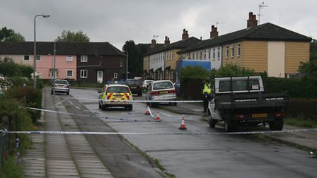 Beatty Road and Gorse Road were closed on Saturday morning.