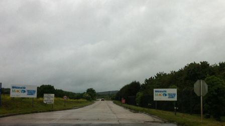 Firefighters have been tackling a blaze at a landfill site in Great Blakenham