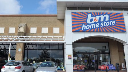 B and M Home Store in Ransomes Europark,Ipswich.