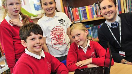 Four pupils from Holbrook Primary School win the chance to represent their country in a Computer pro