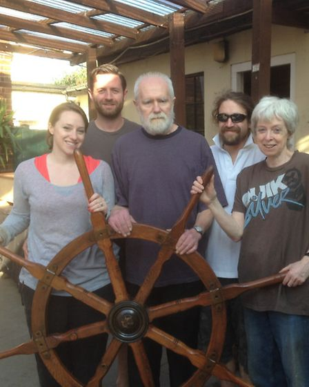 The new family taking over at The Steaboat Tavern, Ipswich, Andew Barlow and wife Susie, her parents