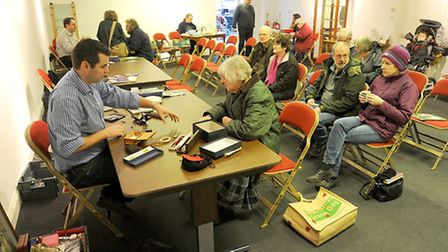 """Experts from Lockdales in Martlesham are having a """"valuation"""" day at the Long Shop Museum in Leiston"""