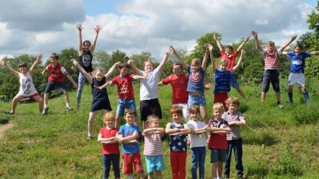 Pupils at Elmsett Primary School took part in a Russian day as part of the Star World Cup Draw.