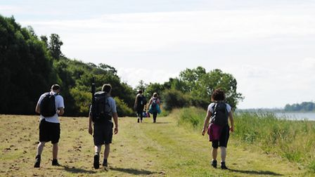 The Rotary Club Orwell Walk and Cycle Ride 2014.