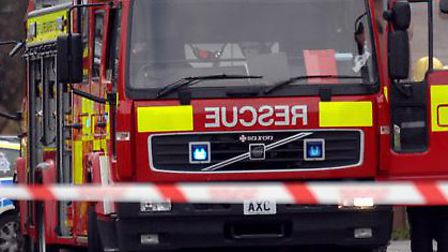 Fire crews from Brightlingsea and Clacton attended the scene
