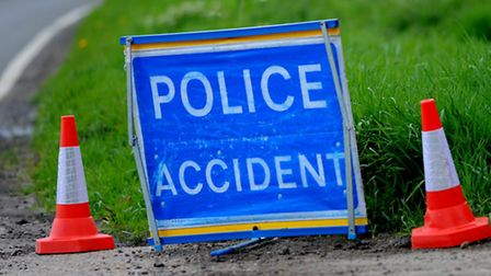 A lane of the A14 is closed