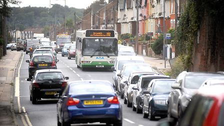 Wherstead Road is one of the routes to be improved