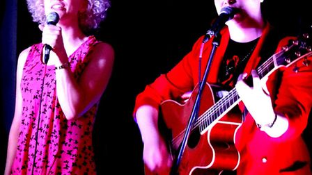 Fiona Bevan and Kal Lavelle bring their Song Sisters tour to Ipswich's St Peter by the Waterfront on