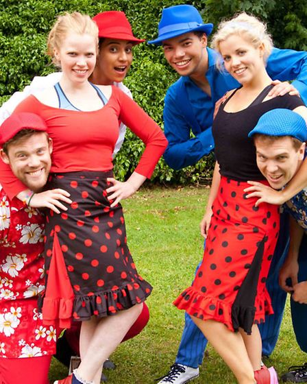 Red Rose Chain's Theatre in the Forest production of The Comedy of Errors will be on during Jimmy's