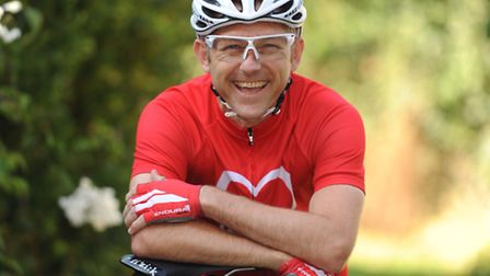 Former EADT photographer James fletcher is doing a 100 mile cycle in aid of The British Heart founda