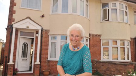 Beryl Willson will have lived at her house in Ipswich for 75 years on September 2.