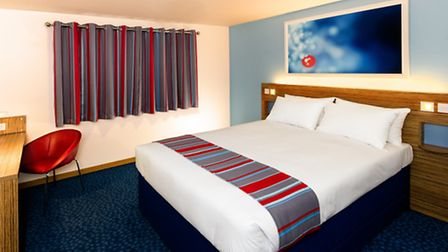 Travelodge Ipswich Central (Duke Street) has been revamped. This is the new style of one of the bed