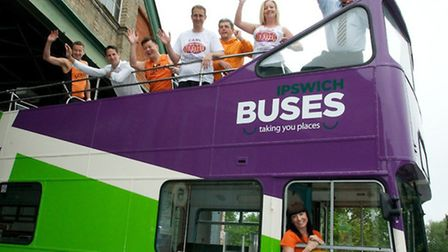 Ipswich Buses are supporting the Ipswich Half Marathon in September 2014