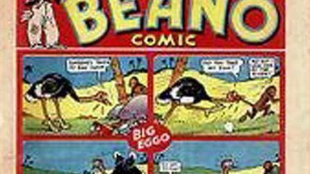 A classic edition of the Beano comic
