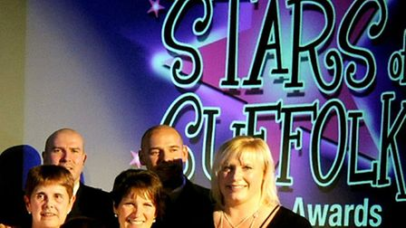 The glittering Stars of Suffolk awards night held at Suffolk New College The winners