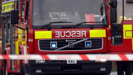 Firefighters extinguished two car fires overnight