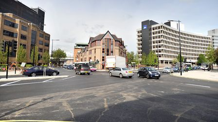 The new junction at Civic Drive has caused traffic misery for many drivers in Ipswich.