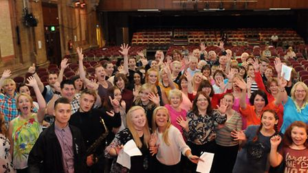 The contestants are gearing up for the Ipswich Has Got Talent show.