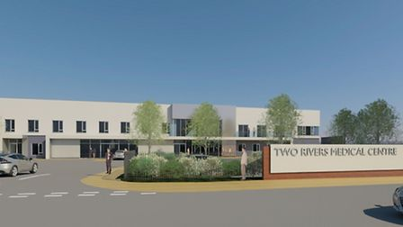 planning concept for the proposed new medical centre for the West Villa site.