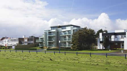 CGI of the apartment development site, with planning permission, which is being sold in Felixstowe.