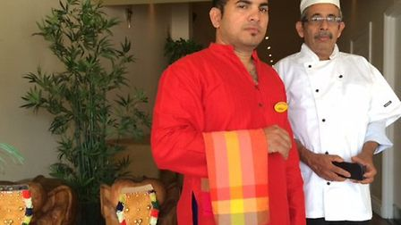 Indian Palace, south Indian/Sri Lankan restaurant, re-opening in Upper Orwell Street, Ipswich