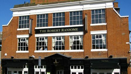 The Robert Ransome – Overall Winner and Best Town Centre Pub Winner of Ipswich Best Bar None 2010/