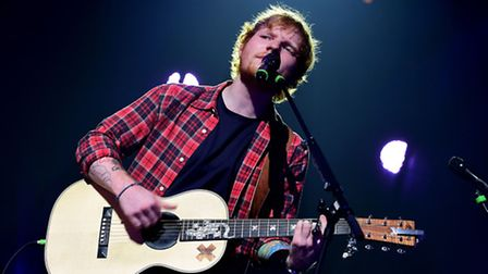 Singer-songwriter Sheeran, the former Thomas Mills High School student, has enjoyed strong chart suc