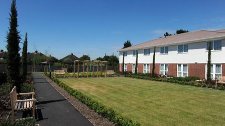 The new Asterbury Court residential home in Ipswich.