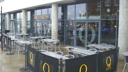 The former Quayside restaurant at Ipswich Waterfront has been acquired and the new owners plan to re