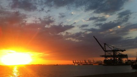 Paula Pope's entry in the Landguard Photography Competition 2014 - one of the final 12 voted for by