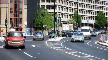 New traffic light system is up and running on Civic Drive, Ipswich.
