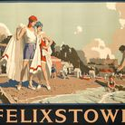 The Felixstowe railway poster which sold for �3365