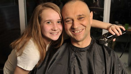 Bethany Leach and her dad, Kevin