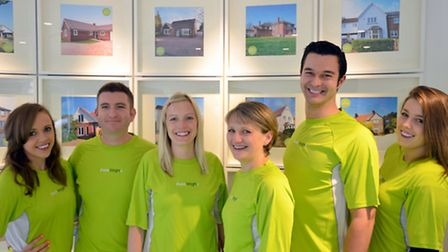 Fenn Wright, Kesgrave staff who are running in the Kesgrave Fun Run on Sunday May 4.