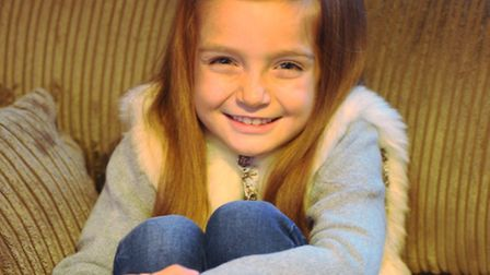 7 year old model and actor Morgan Rudge who is currently in the Disney Frozen advert