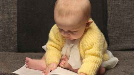 Six-month-old baby Oscar made his stage debut in Terence Rattigan play Separate Tables, playing five