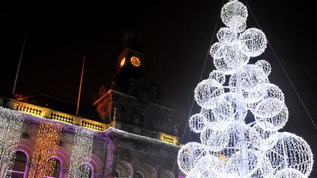 Crowds are expected to gather for this year's Christmas tree lights switch-on.