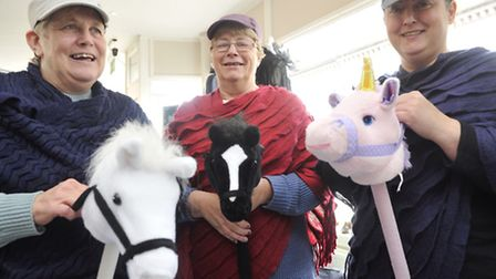 Cheryll Davey, Sheila Bloom and Cherie Bloom are gearing up for their race night on November 7 at La