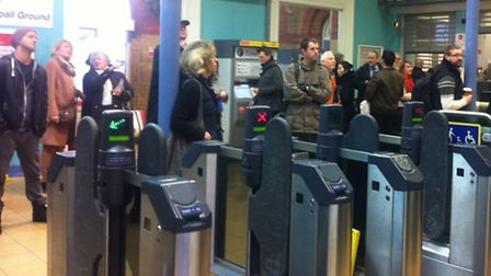 Commuters faced long delays at early morning rush hour