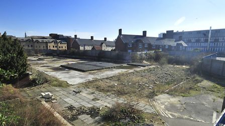 Former Civic Centre site in Ipswich