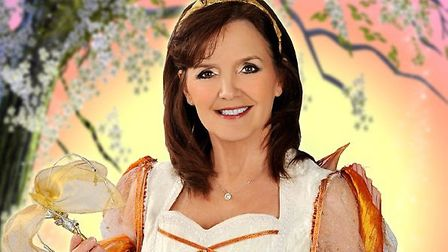 Maureen Nolan as the Fairy Godmother in Enchanted Entertainment's Cinderella, at the Ipswich Regent