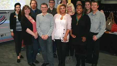 The Re-create Group, the Creative Entreneneur course at the Eastern Enterprise Hub, Ipswich