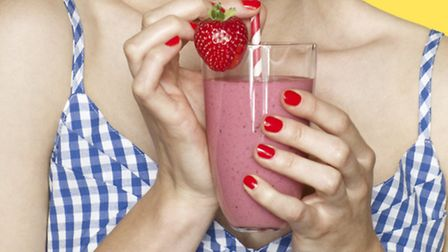 A fresh fruit smoothie helps you on your way to 5-a-day