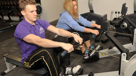 A new Profiles gym has opened up in the Athena Hall of UCS on the Ipswich waterfront. Jade Peters an