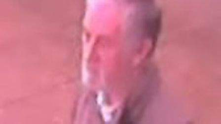 Police have released a CCTV image of a man they want to speak to after a theft from a sports centre