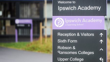 The Government has revealed it sent a warning notice to Ipswich Academy in Braziers Wood Road follow