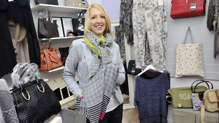 Heather Carr opened her new gift shop Zeebra Chic in November on Dial Lane in Ipswich.
