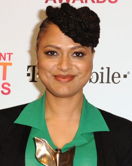 Filmmaker Ava DuVernay who, along with actor David Oyelowo, has been overlooked at this year's Oscar